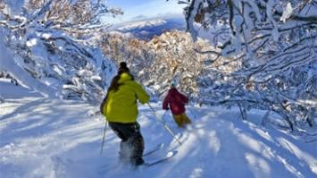 Skiing, Mt Buller