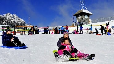 Mansfield & Mt Buller, Snow Play