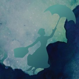 The east wind blows in magic and Mary Poppins