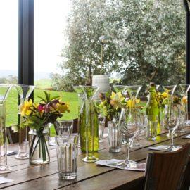 1st table ready for Blending