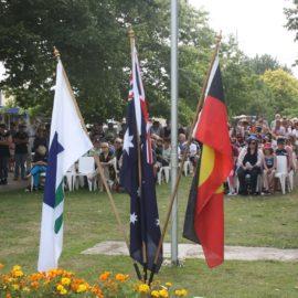 Australia Day Ceremony in Mansfield