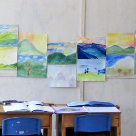 Artwork on display in Classroom